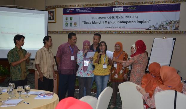 Hari Pertama Temu Kader Pembaharu Desa