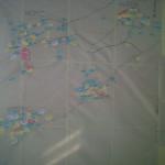Peta aset dan potensi Desa Wulungsari yang dibuat oleh para kader pembaharuan desa