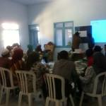 Proses pelatihan pemetaan sosial di Desa Gondang, Wonosobo