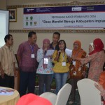 Penampilan Kader Pembaharu Desa dari Kabupaten Wonosobo