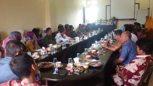 Temu Kader Pembaharu Desa di Tunjungtirto Kabupaten Malang