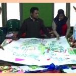 Proses pembuatan peta desa Jatilawang