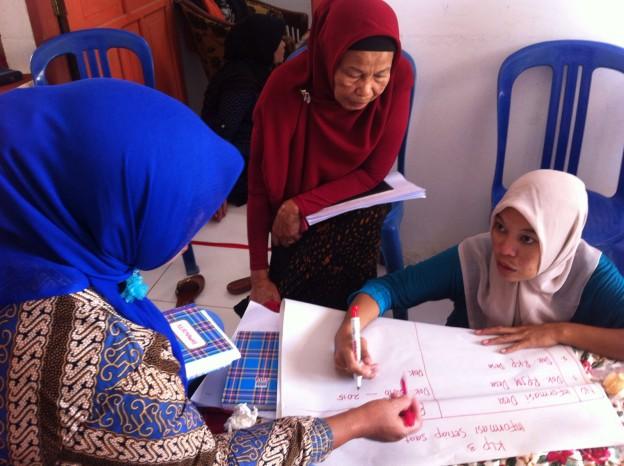 Diskusi Kelompok menemukenali DIP Desa