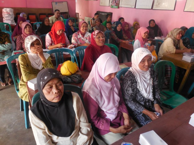 Kelompok Perempuan dalam Musdes Desa Gentansari