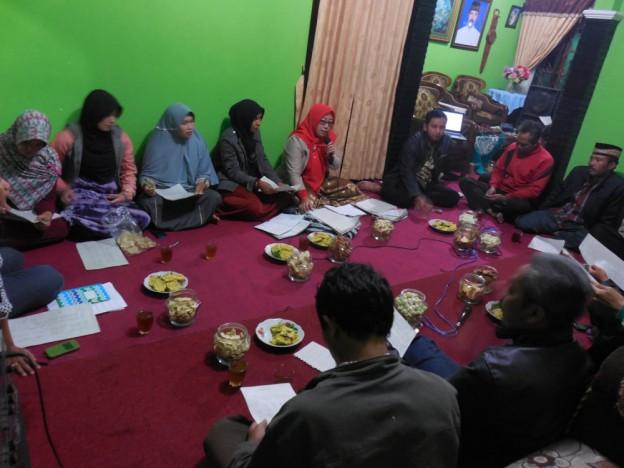 Musyawarah data kesejahteraan Jatilawang