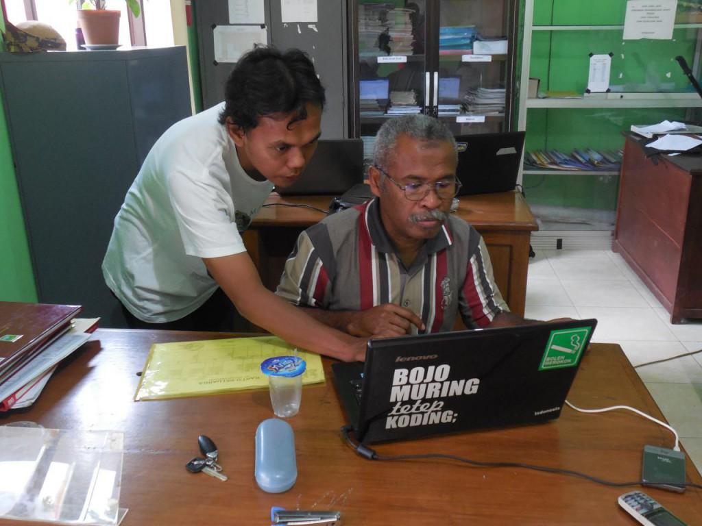 Pemanfaatan Aplikasi Keuangan Desa
