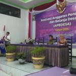 Musyawarah Realisasi Anggaran Desa Tunjungtirto