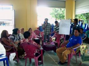 Salah satu strategi pengembangan aset Desa Lubuk Bintialo adalah dengan membangun BUMDesa