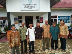 Para pelaku sejarah Desa Tegal Arum